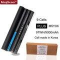 KingSener 11.1V 97WH Korea Cell M5Y0X Laptop Battery for DELL Latitude E6420 E6520 E5420 E5520 E6430 71R31 NHXVW T54FJ 9CELL