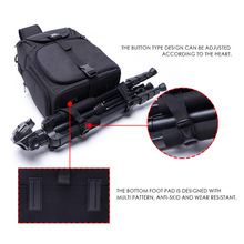 цена на Photo Camera Sling Bag Shoulder Cross Digital Case Waterproof W/ Rain Cover Dslr Soft Men Women Bag For Canon Nikon Sony DSLR