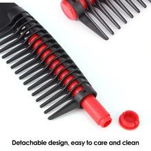 Anti-Static Wide-Spaced Teeth Detangling Comb