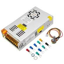Schalt Netzteil Transformator Einstellbar AC 110/220V zu DC 0 48V 10A 480W mit LCD Display