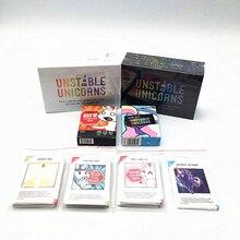 Лучшее качество нестабильных единорогов настольная игра карточная игра для возраста 14 +