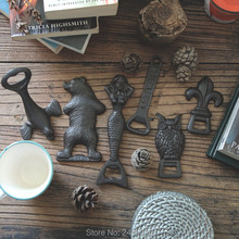 cast iron beer opener screwdriver bottle creative for personality vintage