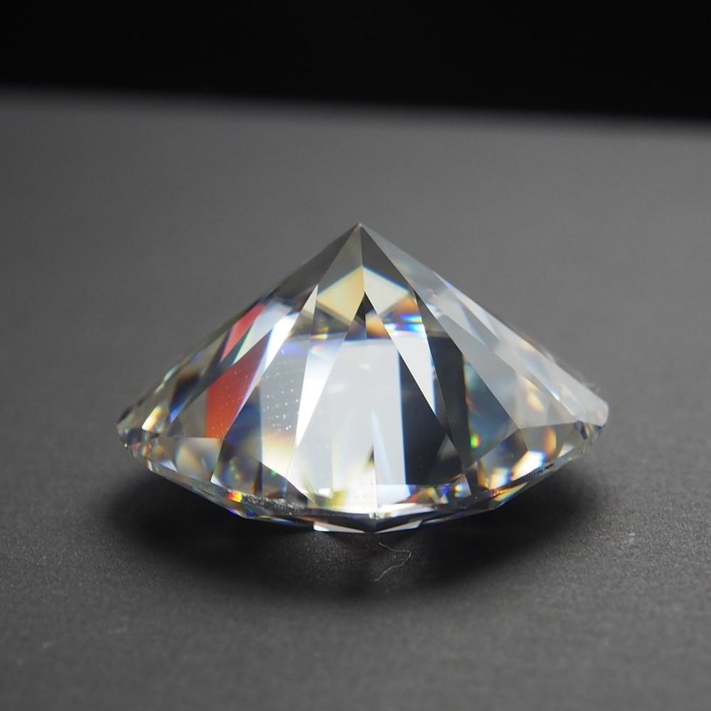 5*5mm DEF taille coussin Blanc Moissanite Pierre Moissanite lâche Diamant 0.57 carat pour anneau bricolage