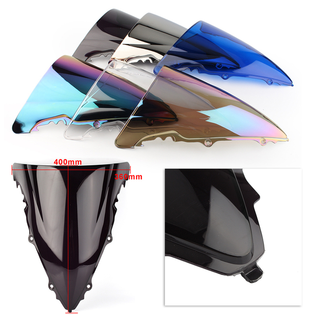 YZF R6 Motorcycle Windshield Windscreen For Yamaha YZF R6 600 2003 2004 2005 ABS Plastic