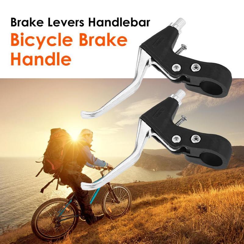 1pair Mountain Bike Bicycle Hand brake Levers Bar handlebar Lever set Black