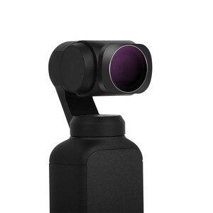 Image 2 - Mcuv cpl nd4 nd8 nd16 nd32 nd64 ND PL câmera lente filtro liga de alumínio adsorção magnética para dji osmo bolso cardan handheld