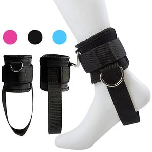 D-Ring Ankle Straps Fitness Ad