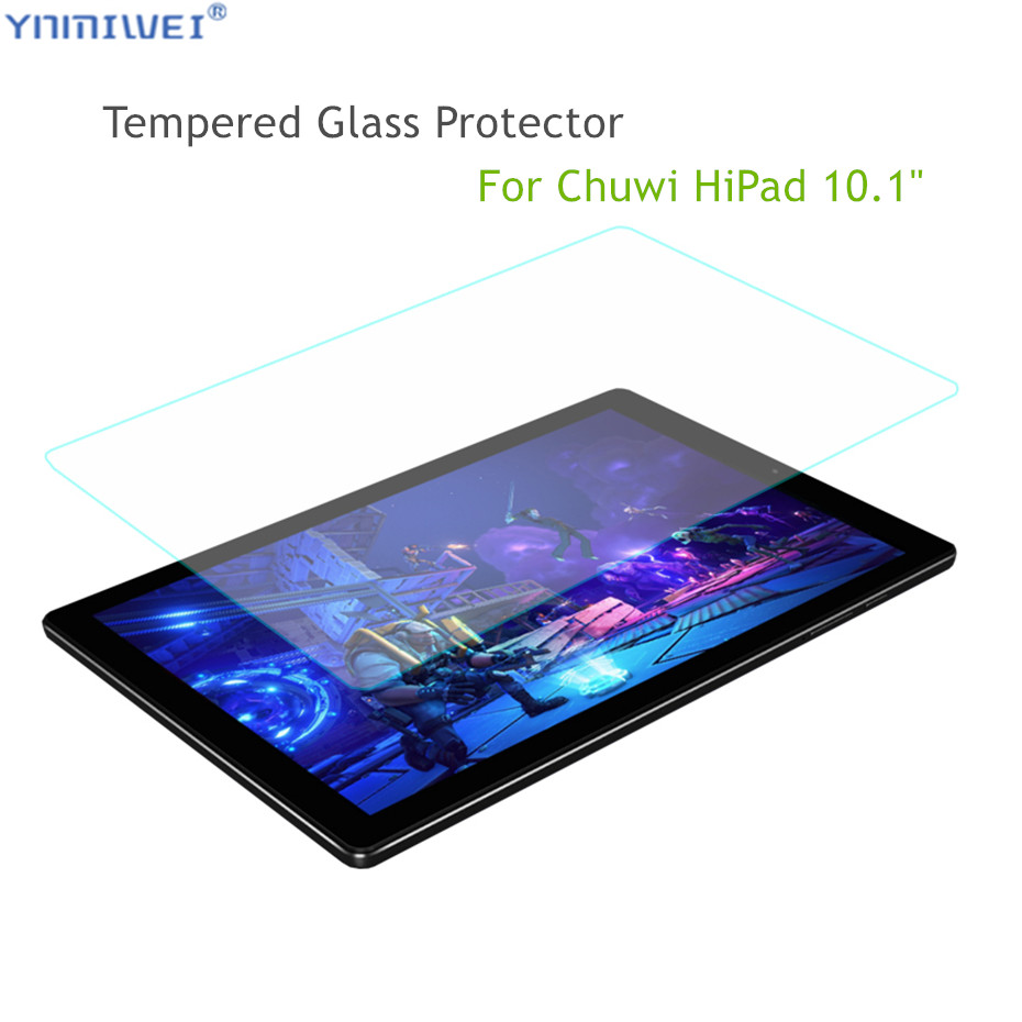 Glass Protector For CHUWI Hipad 10.1 Inch Tempered Glass Protector Scratch-Resistant 0.3mm For CHUWI Hipad Glass Films