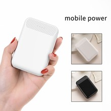 CASEIER Dual USB Mini Power Bank 10000 mAh 18W de carga rápida Powerbank batería externa cargador portátil para iPhone Samsung(China)