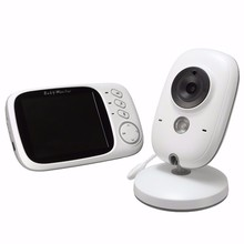 TYIYEWH VB603 Wireless Video Baby Monitor Music Nanny Camera with LCD Display Temperature Monitoring Nigth Vision Two-way Audio