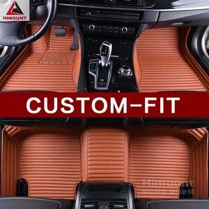 Alfombrillas de coche hechas a medida para Toyota Reiz Mark X Avalon Crown S180 S200 S210 RAV4 Camry Herrer Fortuner Zelas alfombrillas de revestimiento