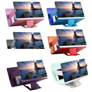 Image 5 - Универсальный мобильный телефон 3D Экран HD видео усилитель увеличительное Стекло Подставка Кронштейн Автомобильный держатель для телефона на магните практичный проектор домашнего кинотеатра