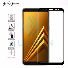 Full Cover Tempered Glass For Samsung Galaxy A3 A5 7 S7 2017 Screen Protector For Samsung J3 5 7 2017 2018 Protective Glass Film protective glass red line for samsung galaxy a5 2017 full screen 3d gold