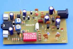 Image 1 - BH1417F 0.1W FM émetteur Station de Radio numérique PLL lecteur de musique stéréo FM 87.7MHz 107.9 MHZ fréquence bricolage KITS pour amplificateur