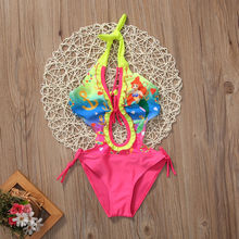 2018 New Hot Sale Lovely Kids Girl Toddler Ariel Swimming Suit Bikini Tankini Swimsuit Swimwear Beachwear