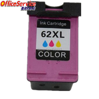 1 Color Remanufactured Ink Cartridge For HP62XL , For Envy 5640/5642/5643/5644/5660/5661/5663/5665/7640/5540/5541 printer