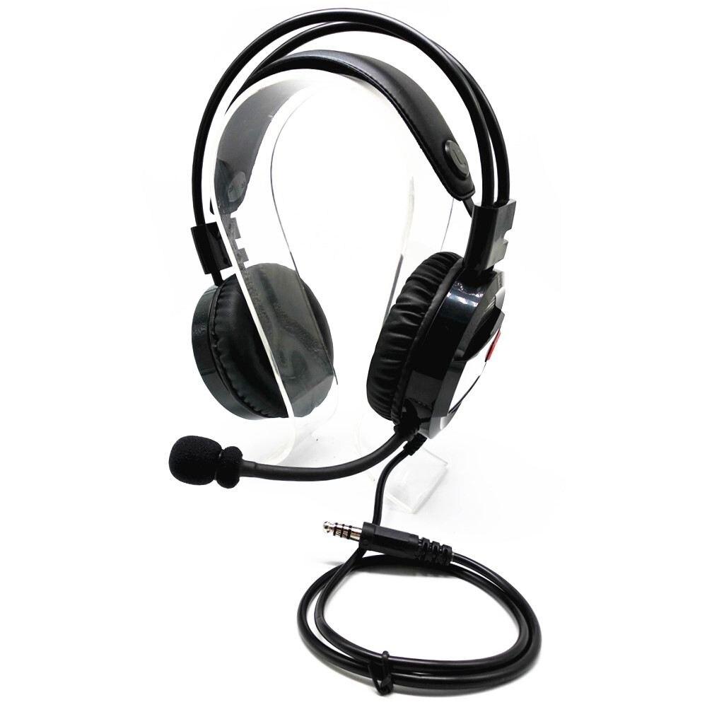 JABS Advanced intercom headset with adjustable volume earphone for u94-ptt headset for baofeng Tyt