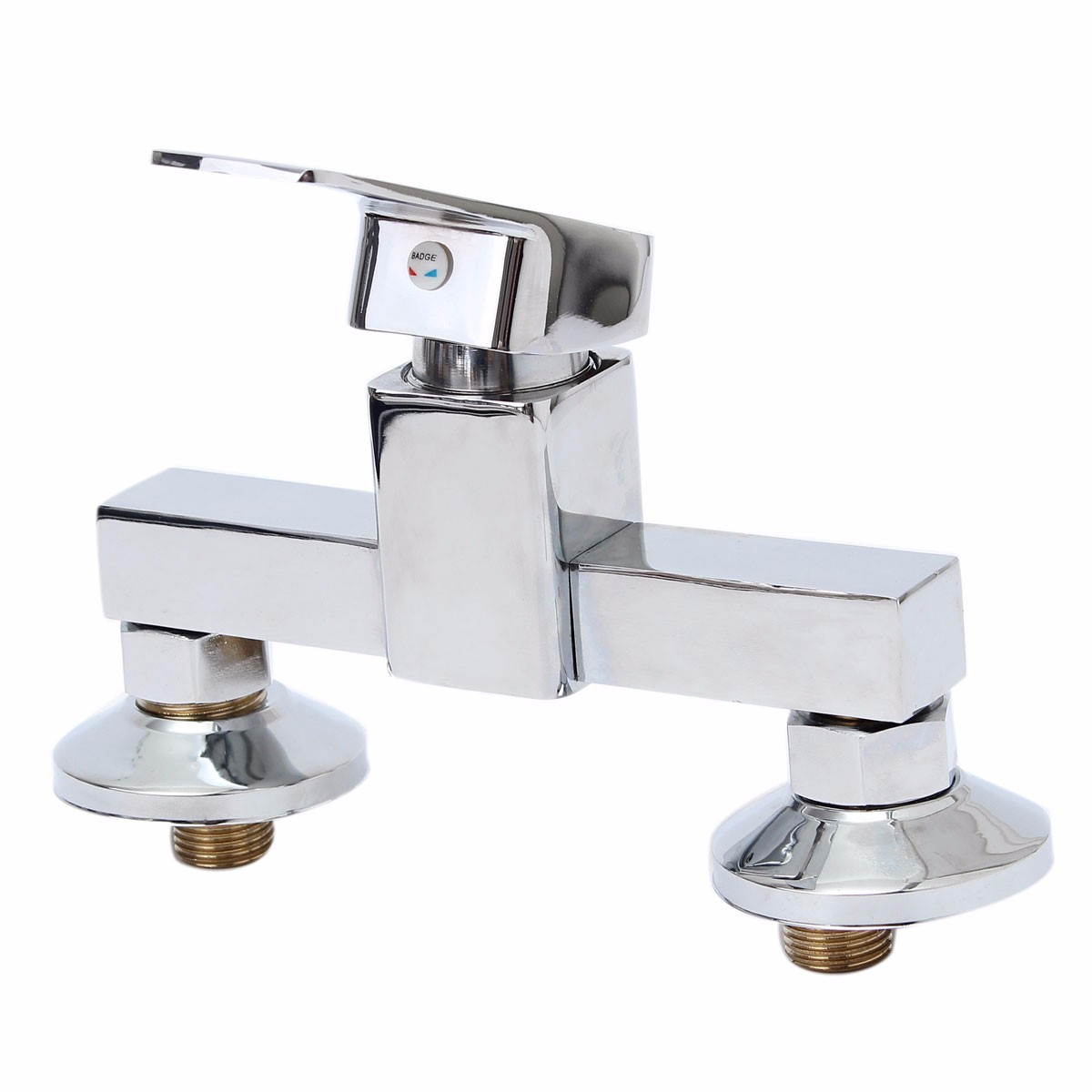 1pcs Bath Shower Faucet Cold and Hot Water Durable Zinc Alloy Wall Mounted Mixer Chrome Plated Bathroom Faucet Valve New1pcs Bath Shower Faucet Cold and Hot Water Durable Zinc Alloy Wall Mounted Mixer Chrome Plated Bathroom Faucet Valve New