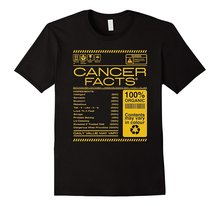 Cancer Facts Cancer Awesome Zodiac Sign 2018 Summer New Brand T Shirt Men Hip Hop Men T-Shirts Casual Fitness Letter Top Tee angel wight cancer zodiac