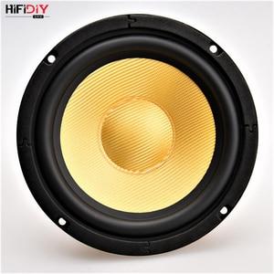 Image 2 - HIFIDIY LIVE HIFI speakers DIY 6 inch 6.5 Midbass Woofer speaker Unit 8 OHM 120W Glass fiber vibratory basin Loudspeaker K6 167S