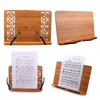 Wooden Classical Temperament Sheet Music Stand Holder Table Music Book Stand for Piano Guitar Player Musical Instrument Parts
