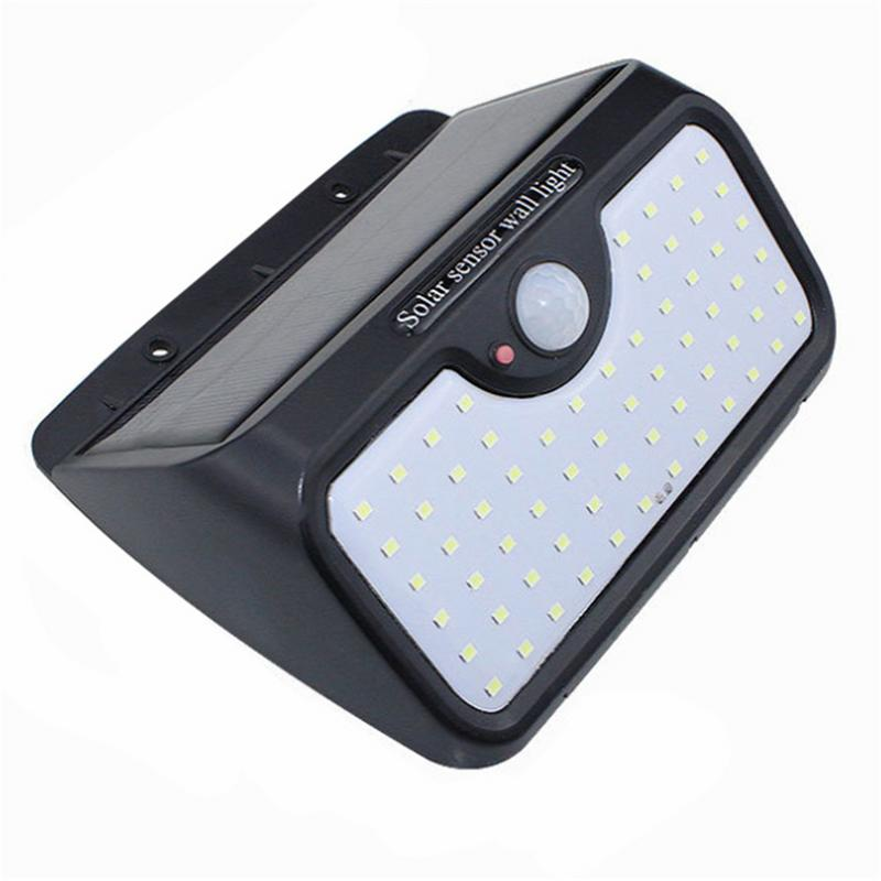 Lights & Lighting Official Website 64led Solar Induction Wall Light Large Outdoor Waterproof Garden Lamp For Outdoor Public Road Courtyard Path