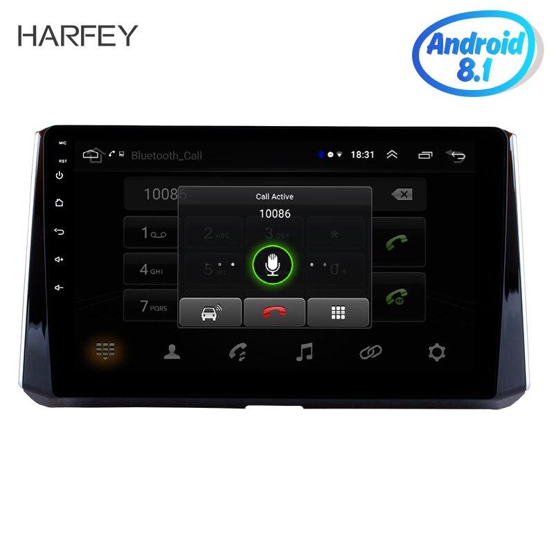 """Harfey 2019 トヨタカローラため 2Din 10.1 """"GPS ナビゲーションカーラジオの Android 8.1/9.0 マルチメディアプレーヤーブルートゥース無線 Lan  グループ上の 自動車 &バイク からの 車用マルチメディアプレーヤー の中 1"""