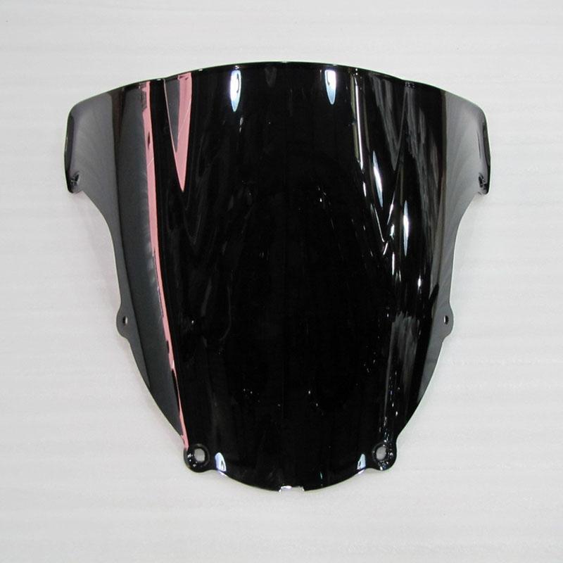 5 Color Windshield For <font><b>2003</b></font> 2004 Kawasaki NINJA ZX6R ZX-6R zx 6r <font><b>636</b></font> bwind screen Double bubble Front Motorcycle Accessories image