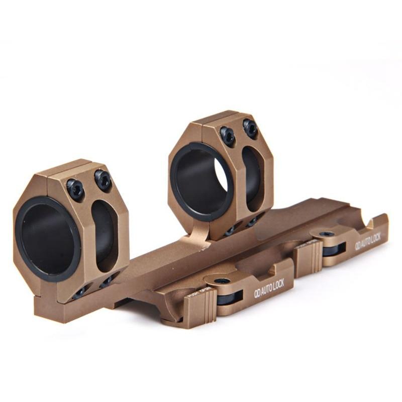 Lunette de chasse spot Scope adaptateur support AK 47 QD 25mm 30mm anneaux montage Airsoft accessoires AR15 Picatinny Rail carabine