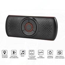 Многофункциональная Bluetooth-Колонка для телефона, поддержка Bluetooth 4,2 EDR для SIRI 3 Вт, автомобильный комплект громкой связи, адаптер MP3-плеера