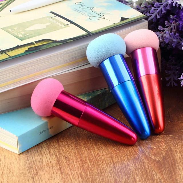 1 pcs Cream Foundation Make Up Foundation Powder Blush Face Beauty Cosmetic Makeup Brushes Liquid Sponge Brush 3