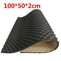 100x50cm tapis insonorisant de voiture insonorisation isolation acoustique amortissement mousse caisson de basses tapis autos accessoires