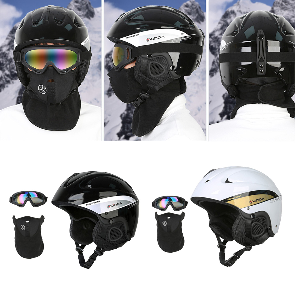 Snow Ski Skiing Safety Helmet Men Women Outdoor Cycling Skateboard