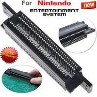 Ranhura para cartucho de conector de substituição de 72 pinos para o sistema de bits nintendo nes 8|Peças e acessórios de reposição| |  -