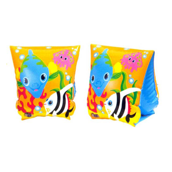 Inflatable Swim Wings 2 Air Chambers Armbands Arm Float Pool Floaties 3+ Water Sports Safety Products Swimming Equipment for Kid