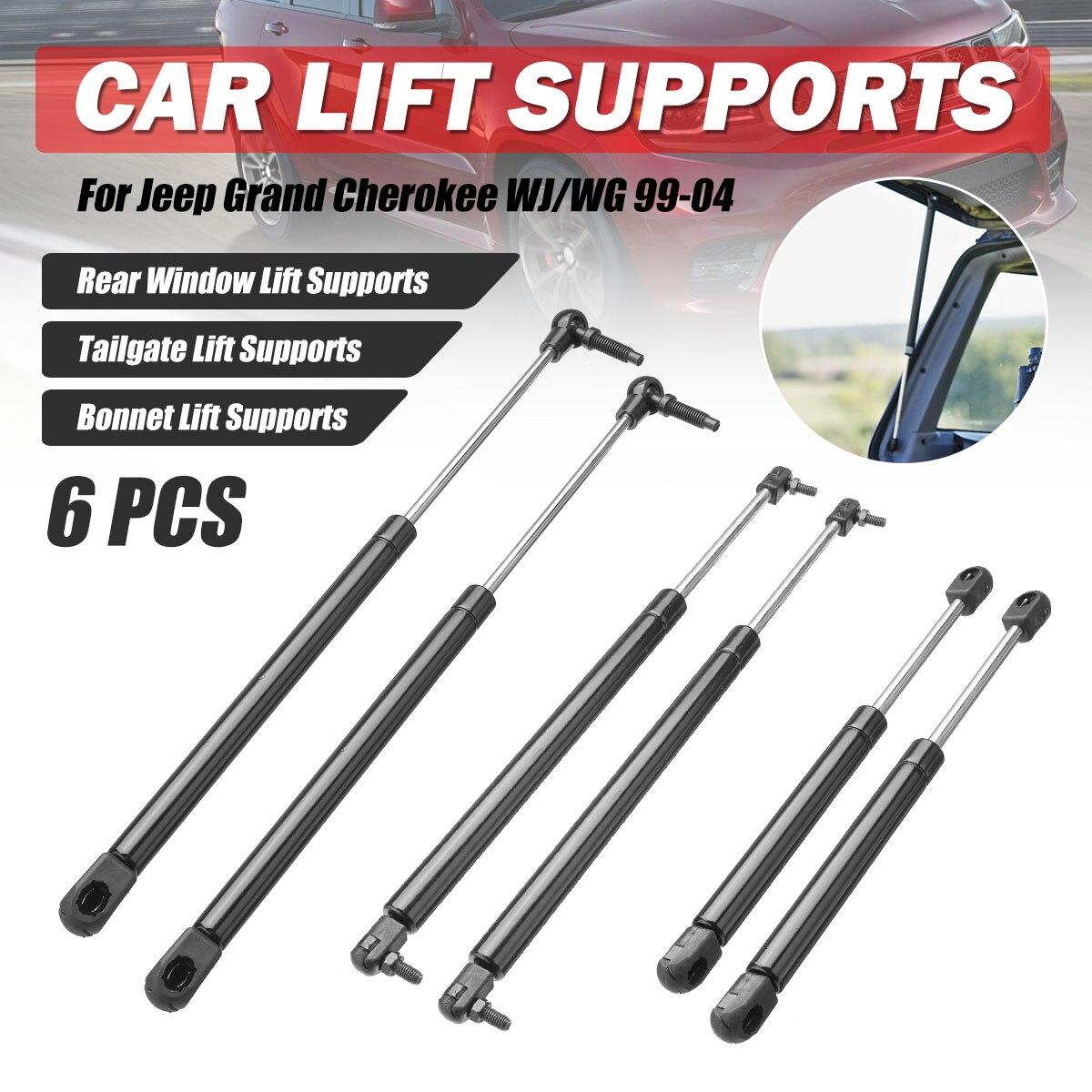WG// WJ 1999-2004 4X4 GAS BONNET SUPPORT STRUTS 2X FOR JEEP GRAND CHEROKEE
