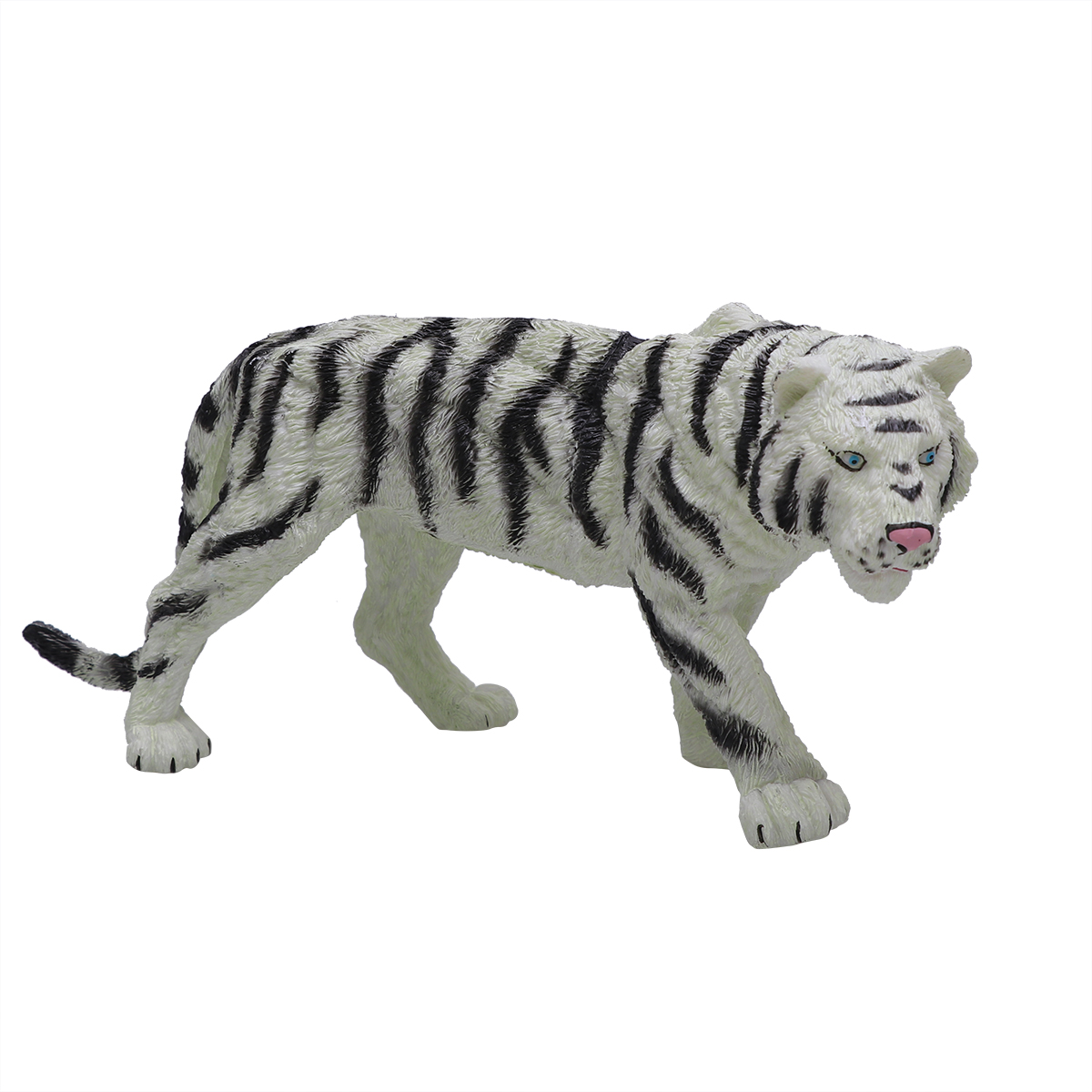 Toy Animal-Model Plastic Kids for Children 1pc Tiger-Toy Simulated Wild Classic Solid