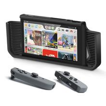 Case Cover For Nintendo Switch Protective Grips Case With Tempered Glass Screen Protector 4 Joystick Caps