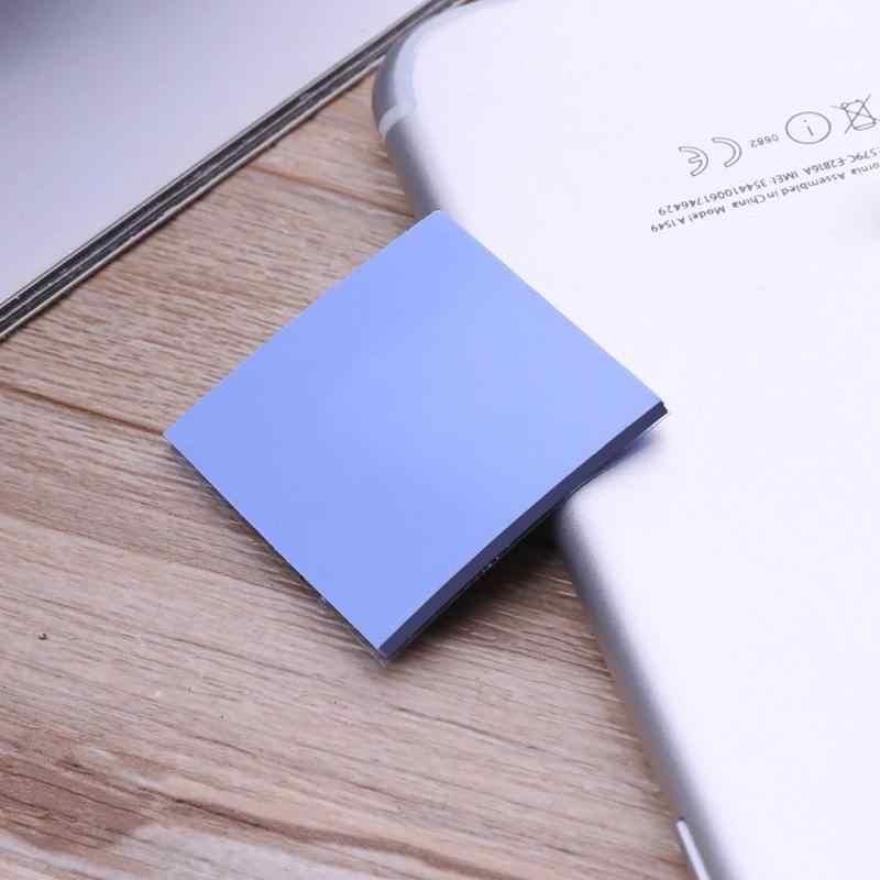 9 sztuk 30x30x2mm chłodzenia podkładka silikonowa przewodząca ciepło żel krzemionkowy Pad wsparcie PC Laptop DVD, VCD, pokrywki, set-top box