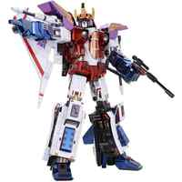 MMZ MODLE MU Starscream G1 3D Metal Model Kits DIY Assemble Puzzle Laser Cut Jigsaw Building Toy YM-L078
