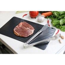 Быстрый размораживающий Лоток Для Оттаивания кухонного безопасного размораживания мяса или оттепели Замороженные куколные столовые принадлежности для дропшиппинг