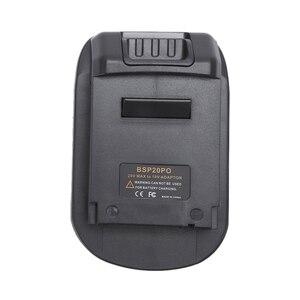 Image 2 - Adaptador de conversión de batería Bps20Po 20V a 18V para Black Decker/Stanley/Porter Cable para portero Cable herramientas de potencia de voltaje 18