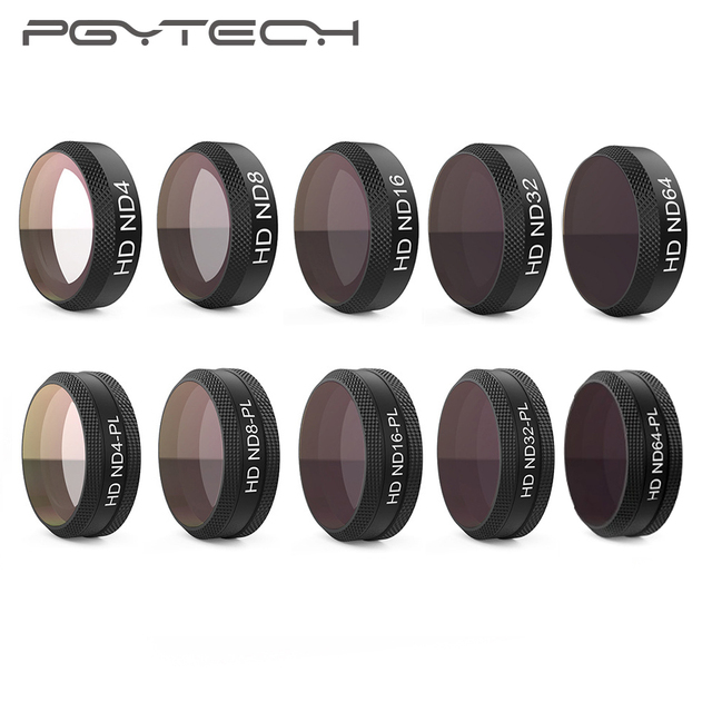PGYTECH DJI Mavic hava ND4 8 16 32 64 ND/ND PL filtre kamera Lens CPL filtreler DJI Mavic hava Drone aksesuarları