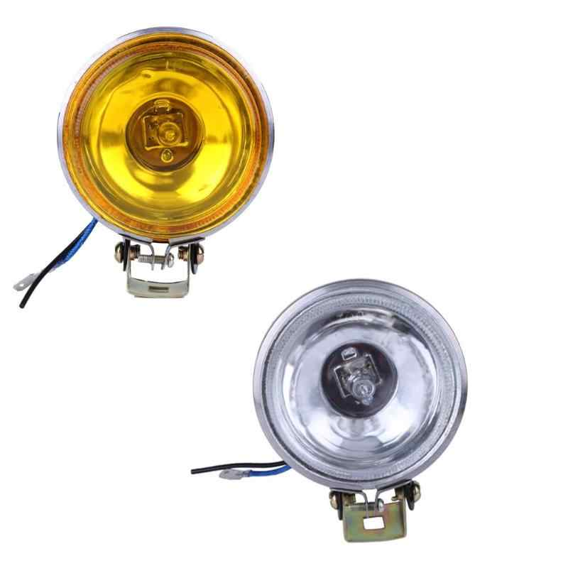 "12V 55W 3"" Anti-fog Glass Automobiles Side Round Car Fog Light Working Lamp Bulb Reversing Light Work Lights Accessories New"