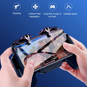 Image 3 - Pubg Controller L1R1 Shoote Pubg Gamepad Mobiele Game Controller Jongen Trigger Controle Joystick Voor Iphone Android Met Ventilator
