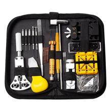 Guarda tool Kit di Riparazione Orologio Link di Spille Remover 148 pz/set Professionale Attrezzi Della Vigilanza Orologio Strumenti di Riparazione Kit Bag horloge gereedschap