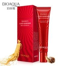 Bioaqua Natural Red Ginseng Snail Moisturizer Eye Cream Hydrating Remove Bag Dark Circles Anti Wrinkles Men/women Skin Care