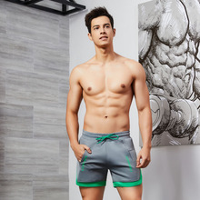 2019 New Fast Dry Male Shorts Sports Fitness Gym Training Running Hybrid Home Shorts Quick Dry Casual Men's Shorts