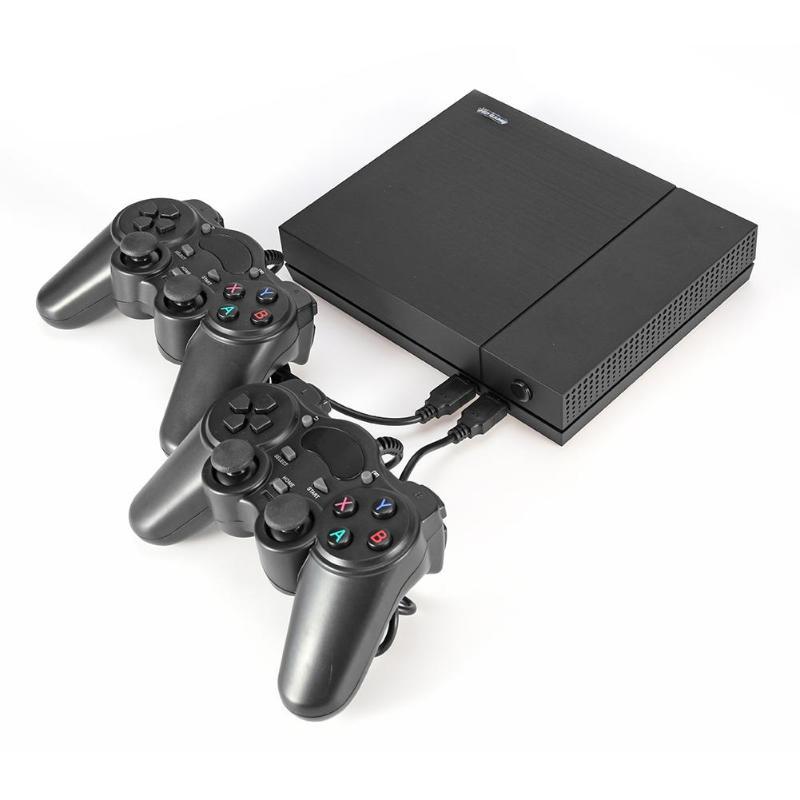VODOOL HD Console de jeu vidéo prise en charge 4 K HDMI AV sortie intégrée 800 jeux classiques rétro famille TV lecteur de jeu portable Machine