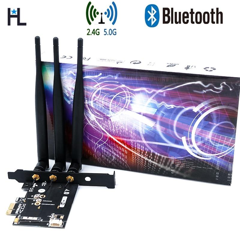 BCM943602CS 2 4&5G 1300Mbps BT4 0 WiFi Network Card for